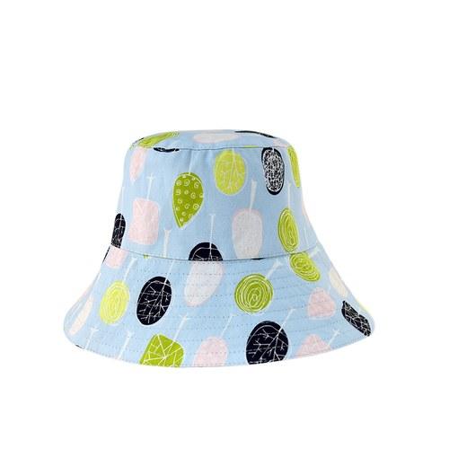 雙面漁夫帽-繽紛森林-成人