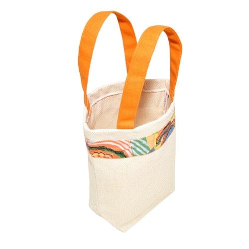我的家庭真可愛環保提袋-橘色