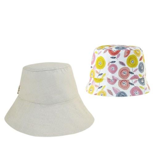 雙面漁夫帽-童話玫瑰-親子帽