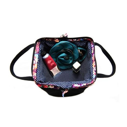 手提小包-紫夜花饗