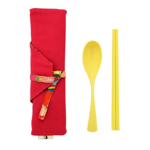 我的家庭真可愛筷套-桃紅色