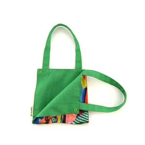 我的家庭真可愛多功能掛袋-綠色