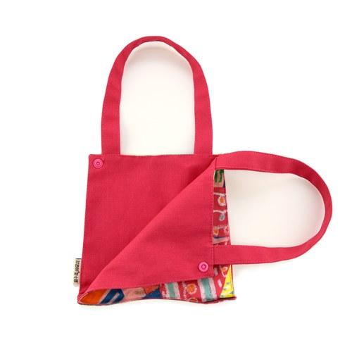 我的家庭真可愛多功能掛袋-桃紅色