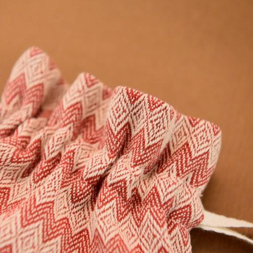 金碳稻香米(1入)+紅白圖騰-小束口袋