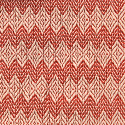 紅白圖騰-小束口袋