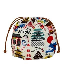 漫步日本-球型束口袋(大)
