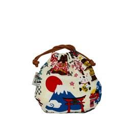 漫步日本-球型束口袋(小)