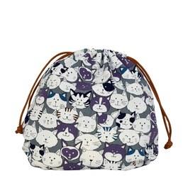 貓咪星球-球型束口袋(大)
