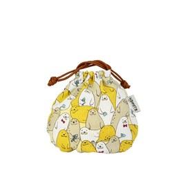 海豹派對-球型束口袋(小)