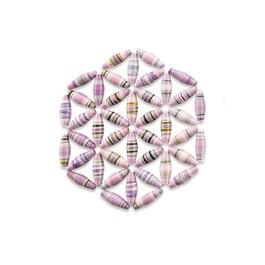 彩虹之美-珠簾杯墊 (小)