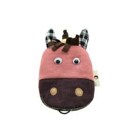 【QQ萌馬】鑰匙包-俏麗粉