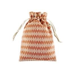 銅白圖騰-小束口袋