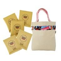 【爸氣十足】A款-精選濾掛咖啡20入+環保提袋加大款-粉色