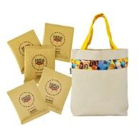 【爸氣十足】A款-精選濾掛咖啡20入+環保提袋加大款-黃色