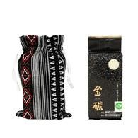 金碳稻香米(1入)+勇者的傳說-原民圖騰小束口袋