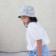 雙面漁夫帽-北歐雪葉-孩童