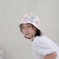 雙面漁夫帽-童話玫瑰-孩童