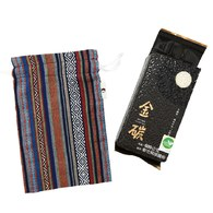 金碳稻香米(1入)+山中的精靈-原民圖騰小束口袋