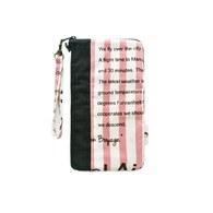 雙拉鍊大手機袋-旅人手札