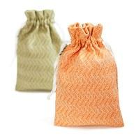 金碳稻香米(1入)+橙光圖騰-小束口袋