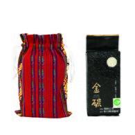 金碳稻香米(1入)+東海岸的熱情-原民圖騰小束口袋