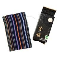 金碳稻香米(1入)+浩瀚的海洋-原民圖騰小束口袋