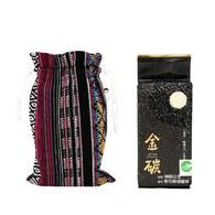 金碳稻香米(1入)+祖靈的守護-原民圖騰小束口袋