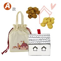 【家你一起】幸福餅乾禮盒-A款-葡萄燕麥餅乾+起司卡拉餅乾