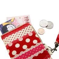 【厚棉手機袋】-甜甜蕾絲女孩