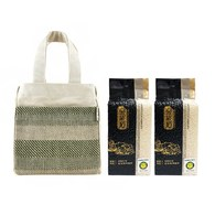 金碳稻香米(2入)+編織小提袋-誠樸