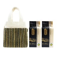 金碳稻香米(2入)+編織小提袋-璀璨
