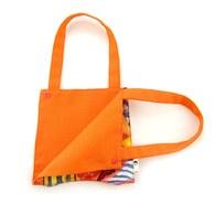 我的家庭真可愛多功能掛袋-橘色